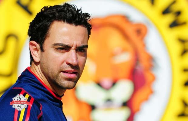 POTCHEFSTROOM, SOUTH AFRICA - JULY 02:  Xavi Hernandez of Spain looks on as he walks back to the team hotel after a training session, ahead of their World Cup 2010 Quarter-Final match against Paraguay, on July 2, 2010 in Potchefstroom, South Africa.  (Photo by Jasper Juinen/Getty Images)
