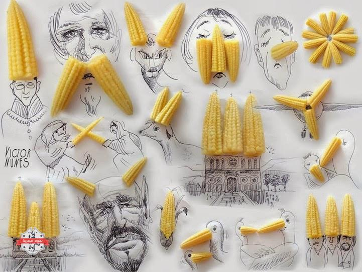 design-fetish-Victor-Nunes-objects-illustrations-into-faces-18