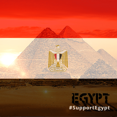 علم مصر Egyptian flag