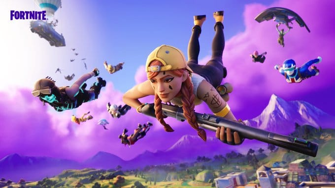 Charging Fortnite balance after updating the Battle Royale.. and the new weapons in Fortnite